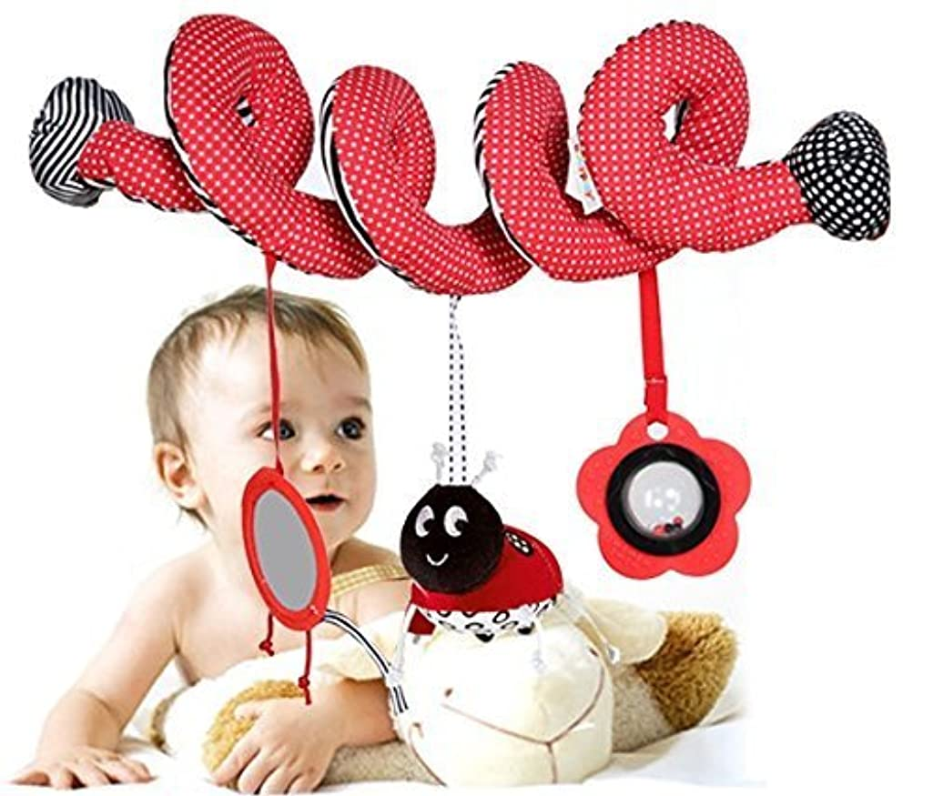 ラオス人妥協に対してTp Sky Beetle Mirror Musical Circle Round Stroller Toys for Baby by Tp Sky [並行輸入品]