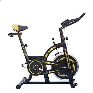 HAIGE フィットネスバイク スピンバイク HG-YX-5006 小型サイズで本格トレーニング カラー:ブラック
