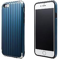 "GRAMAS COLORS""Rib"" Hybrid Case for iPhone 6s グラマスカラーズ リブハイブリッドケース 耐衝撃ケース ICカード対応(Navy) GRAMAS iPhone 6s ハードケース""Rib"" ICカード対応"