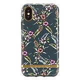 Richmond & Finch iPhone XS/X ケース FREEDOM CASE フローラル エメラルドブロッサム(リッチモンドアンドフィンチ フリーダムケース)花柄 5.8インチ アイフォン カバー ワイヤレス充電対応【日本正規代理店品】 IPX-403