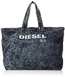 (ディーゼル) DIESEL メンズ デニム トートバッグ THISBAGISNOTATOY D-THISBAG SHOPPER L - shopping bag X05513PR573 UNI (Free) インディゴブルー H1940
