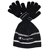 Champion Boys' Big Youth Beanie & Glove Set