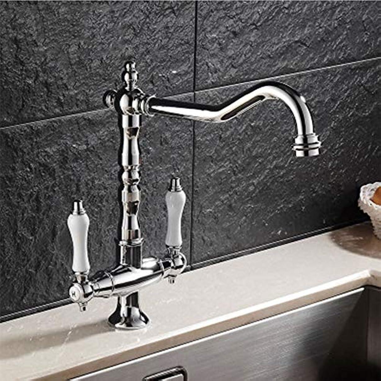 年次グリップ花に水をやるヨーロッパの台所お湯と水の蛇口360°回転きれいなセラミックハンドル美しいファッション座席直径35 mm 作りが精巧である