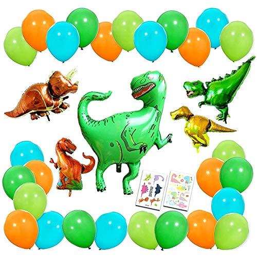 100 dinosaur stickers teacher supply party favor  trex triceratops