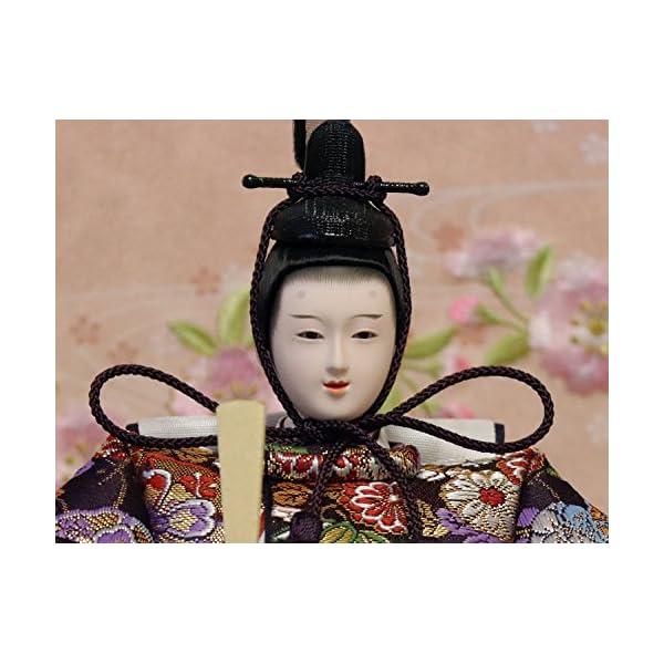 吉徳 雛人形 親王収納飾り 間口58×奥行38...の紹介画像4