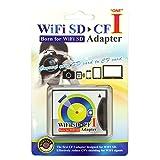 WiFi SDカードをCFカードType1に変換 SD-CF変換アダプター Wi-Fi対応 SDHC/XC対応 WIFISD-CF1