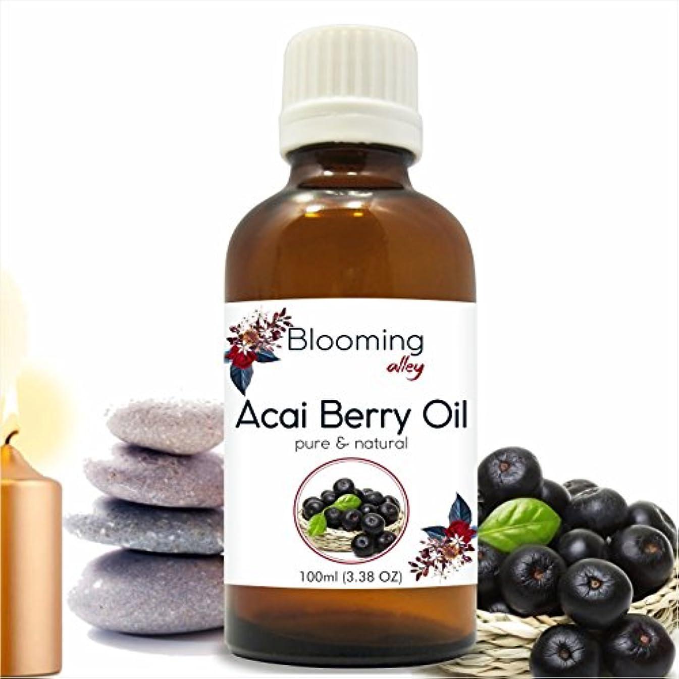 症状実際に墓ACAI Berry (Euterpe Oleraceae) Carrier Oil 100ML