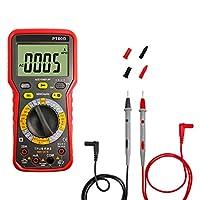 6000カウントデジタルマルチメータ検出AC / DC電圧およびAC/DC電流/抵抗/ダイオード/キャパシタンス周波数/温度,A