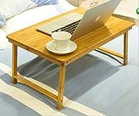 折り畳みちゃぶ台 竹製 折りたたみテーブル ミニテーブル ローテーブル 机 つくえ 60*40*28㎝ナチュラル