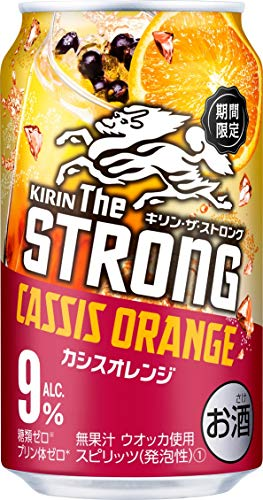 キリン・ザ・ストロング カシスオレンジ 缶 [ チューハイ 350ml×24本 ]