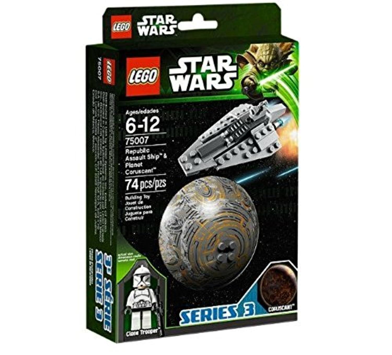レゴ (LEGO) スター?ウォーズ リパブリック?アサルト?シップ™とコルサント™ 75007