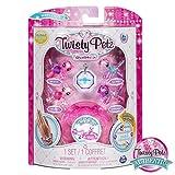 Twisty Petz シリーズ2 ベビー 4パック 子猫とポニー コレクションブレスレットとケース (ピンク) 子供用