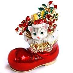 < モモのクリスマス > ピィアース 宝石箱