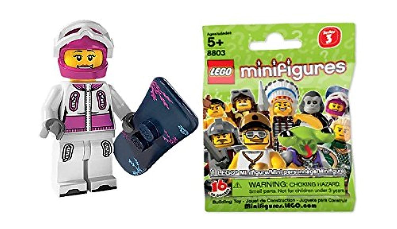 レゴ (LEGO) ミニフィギュア シリーズ3 スノーボーダー (Minifigure Series3) 8803-05