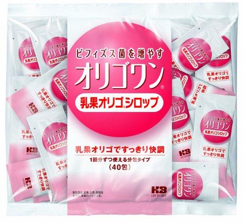 オリゴワン 乳果オリゴシロップ分包 40H