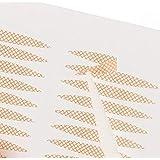 SweetSweetShop メッシュ式二重テープ 二重まぶた アイテープ ふたえまぶたテープ 癖付け 絆創膏タイプ 半月型 楕円型 240枚 120回分 4ヶ月分 プッシャー付き (半月タイプレギュラー240枚)