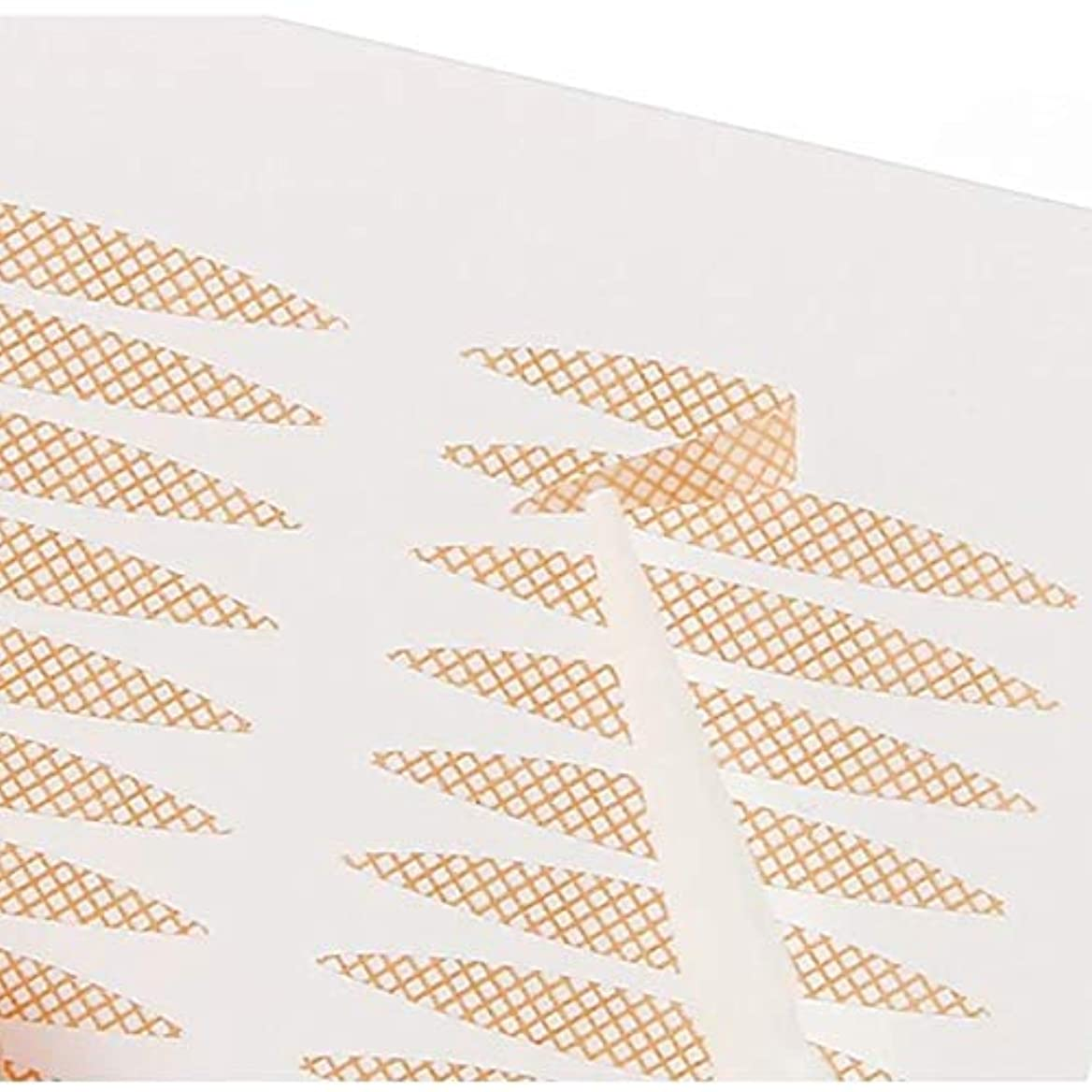 心理的流行湿地SweetSweetShop メッシュ式二重テープ 二重まぶた アイテープ ふたえまぶたテープ 癖付け 絆創膏タイプ 半月型 楕円型 240枚 120回分 4ヶ月分 プッシャー付き (半月タイプレギュラー240枚)