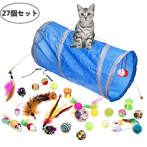 27種類の猫のおもちゃ