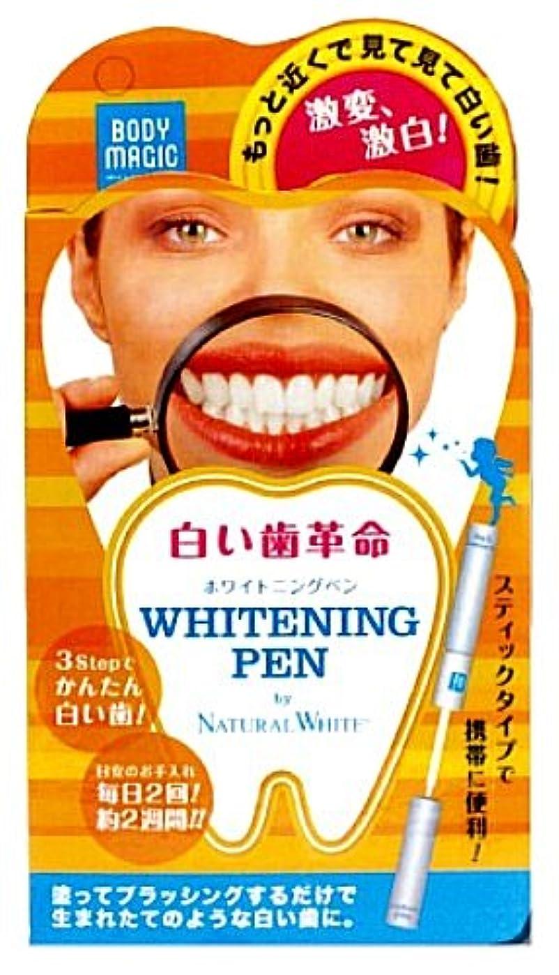 合体広告飛び込むボディマジック ホワイトニングペン
