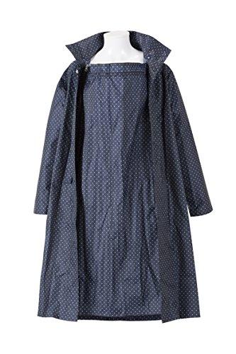 鴿子媽媽雨衣M〜大號海軍