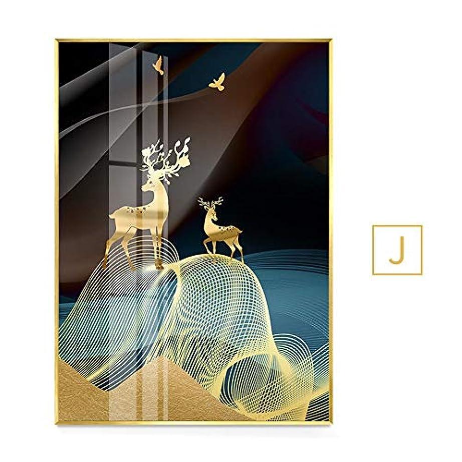 穏やかな求人痛み木製フォトフレーム フォトフレーム6 X 4フォトフレーム銅のベッドルームアクセサリーシングルフォトフレーム風景フォトフレームフォトフレームガラス シングルフォトフレーム (Color : J, Size : 50X70PS Rahmen)