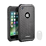 iPhone7防水ケース アイフォン7防水ケース 携帯スマホ防水ケース アイフォン7ケース 防塵防雪耐衝撃カバー IP68保護等級HAMSWAN G747-C 4.7インチ アイフォン7カバー 指紋認証対応 ストラップ付き