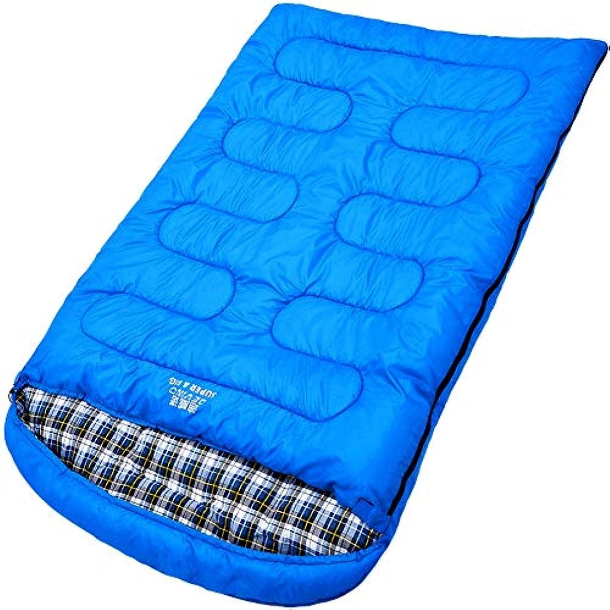 意味のある誕生しかしDurable,Breathableダブル寝袋、ポータブル快適な睡眠パッド大人特大寒い天気暖かい睡眠袋キャンプハイキング屋外活動