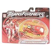 トランスフォーマー カーロボット スーパースピードブレイカー(海外版) Transformers Robots in disguse SIDEBURN (red)
