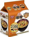 日清 お椀で食べる カップヌードル味噌 3食パック 102g ×9袋