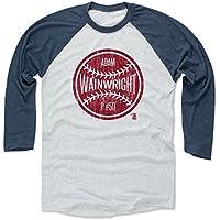 500レベルのアダム・ウェインライト3/第4野球Tシャツ–セントルイス野球ファンギアの公式ライセンスMLB Players Association–アダム・ウェインライトボールR