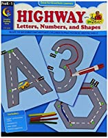 Creative Teaching 2498 Highway - Letters Numbers and Shapes 0.5 Height 8.5 Width 11 Length [並行輸入品]
