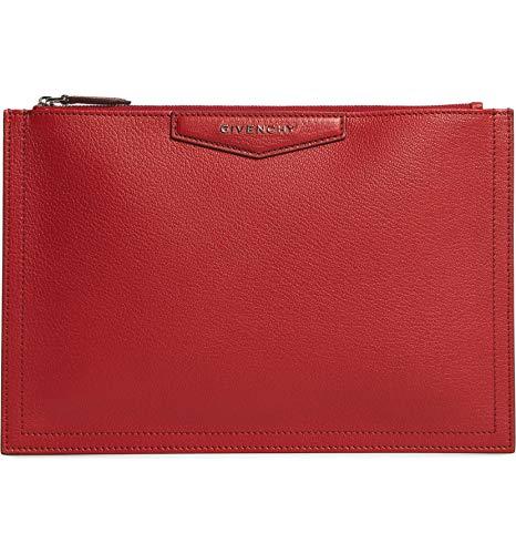 [ジバンシー] レディース クラッチバッグ Givenchy Medium Antigona Leather Pouch [並行輸入品]