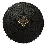 特注番傘 黒 実用番傘 雨傘 防水加工