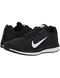 [NIKE(ナイキ)] レディーステニスシューズ?スニーカー?靴 Air Zoom Winflo 5 Black/White/Anthracite 6 (23cm) B - Medium