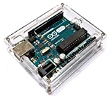 Arduino UNO R3 透明 アクリル エンクロージャー ケース 薄型 コンパクト