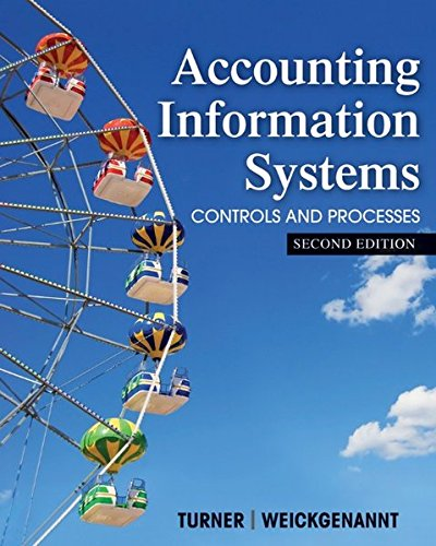 Download Accounting Information Systems: The Processes and Controls 1118162307