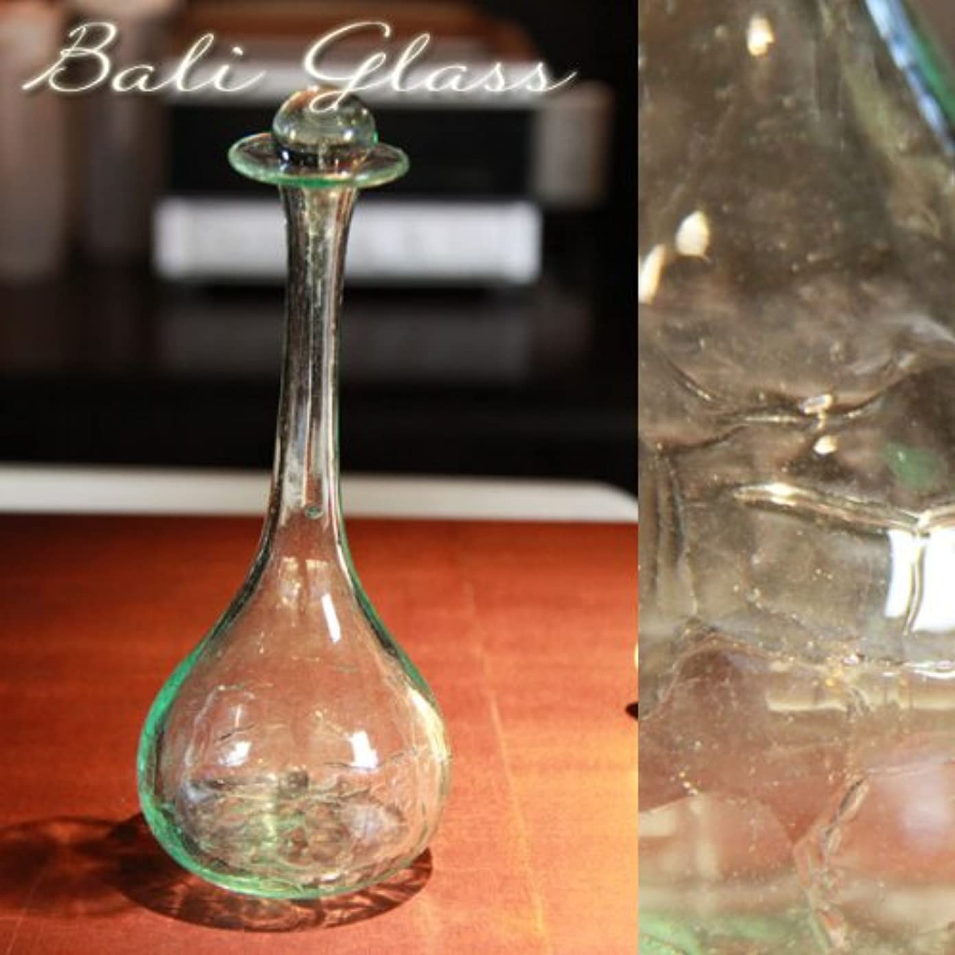 行商溶かす注目すべき高級スパでも使われているハンドメイドのオイルボトル(LLサイズ)
