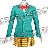 【コスプレ】弱虫ペダル 風 総北高校女子制服 タイプ 衣装 女性用LL
