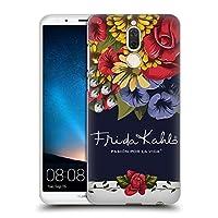 Official Frida Kahlo ブルーム レッド・フローラル ハードバックケース Huawei Mate 10 Lite