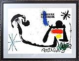 ジョアン・ミロ『Sobreteixim・」m0019』リトグラフ・抽象画・【版画・絵画】【A105】