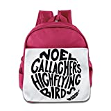 Noel Gallagher Boysスタイリッシュなバックパックスクールバッグ One Size ピンク
