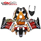 Sportfairings 外装部品の適応モデル オレンジレッドブラックコンプリートフェアリングキットHonda ホンダ VFR400R NC30 V4 年 1988 - 1992 フェアカウリング