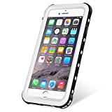 KYOKA iPhone8 Plus 防水ケース iPhone7Plus 防水ケース 指紋認証対応 防水 耐震 防塵 耐衝撃 IP68 アイフォン7プラス 防水ケース 防水カバー (iPhone8Plus/7Plus, ホワイト)