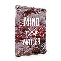 Mind Over Matter牡丹の花パターンプラスチックタブレットスナップonバックシェルカバーfor Ipad Air