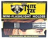 ナイトアイズ NITE IZE NFO-05/01 ミニフラッシュライトホルダー/ヘッドバンド ブラック