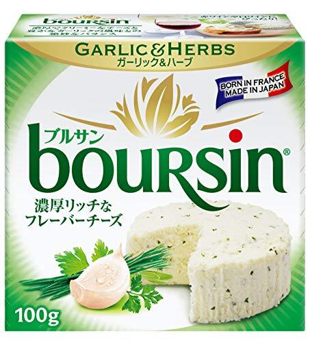 [冷蔵] ベルジャポン ブルサン ガーリック&ハーブ 100g