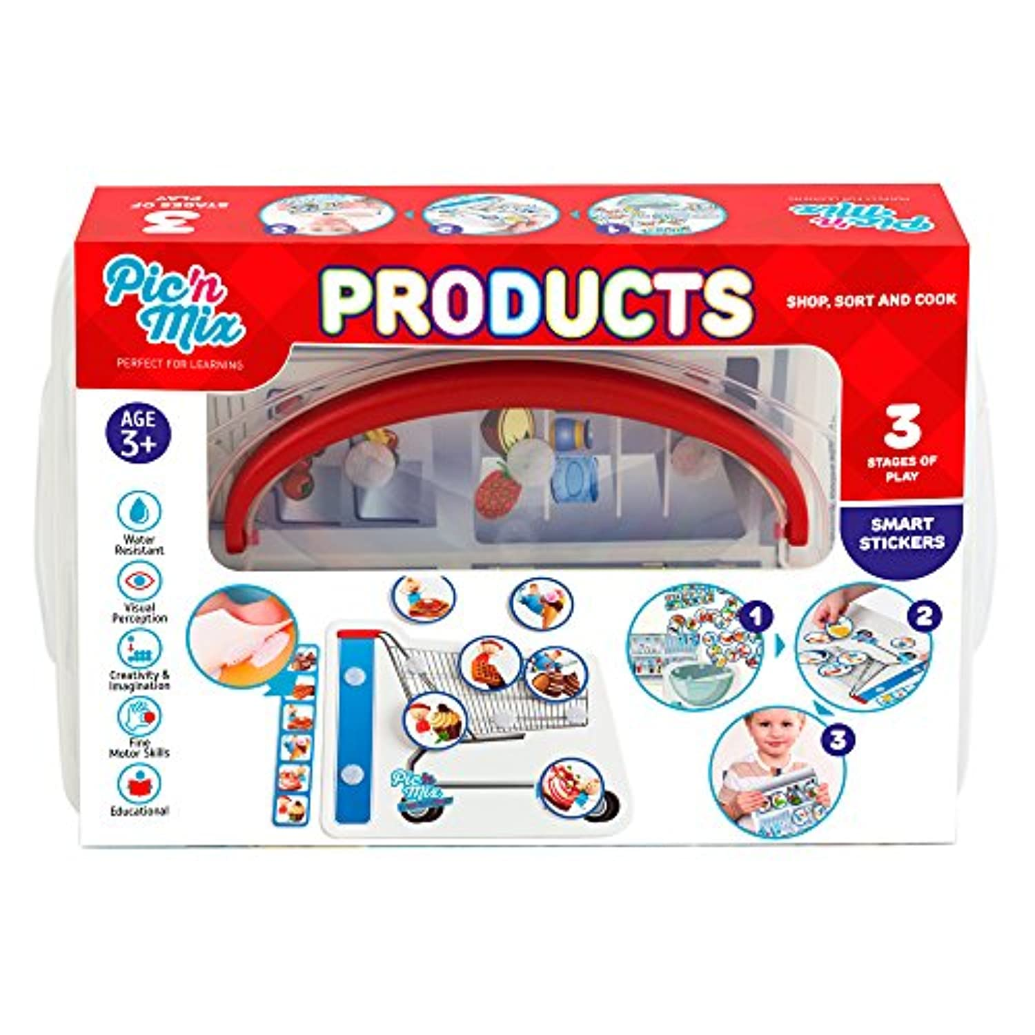(Products) - Picnmix Products Educational and Learning Toys and Games for 3 year olds to 7 year olds