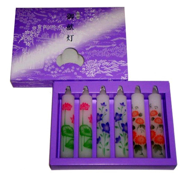 フォーマット液化するグラディス東海製蝋 御献灯 8号 6本 160-02