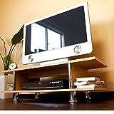 タンスのゲン テレビ台 ローボード スピリッツ メタルタイプ ナチュラル 39070015 NA