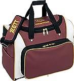 ゼット(ZETT) 野球 セカンドバッグ プロステイタス 容量:約42L エンジ2/ホワイト BAP520